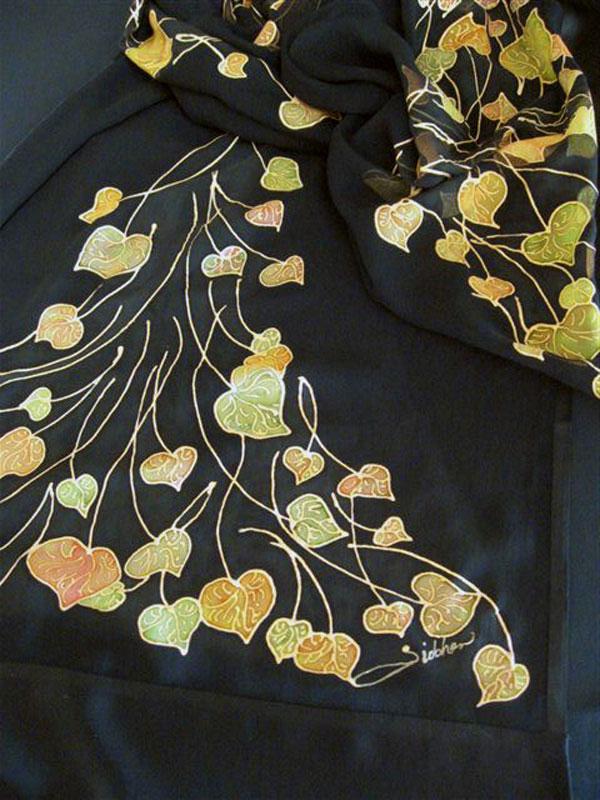 siobhan silks dancing leaves