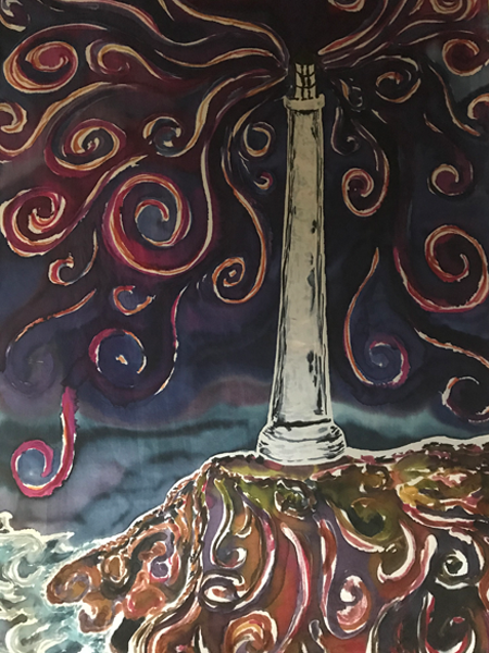 siobhan silks - lighthouse closeup