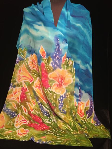 siobhan silk - flower scape