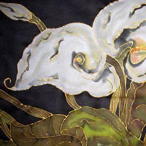 siobhan-silks-calla lily detail
